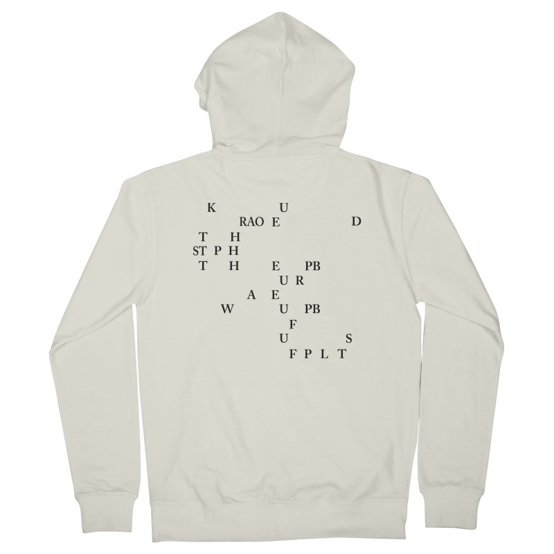 """Can you read this? Then you're one of us"" Men's Zip-Up Hoody by Stenograph's Artist Shop"