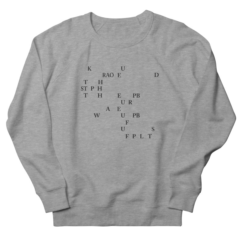"""""""Can you read this? Then you're one of us"""" Women's French Terry Sweatshirt by Stenograph's Artist Shop"""