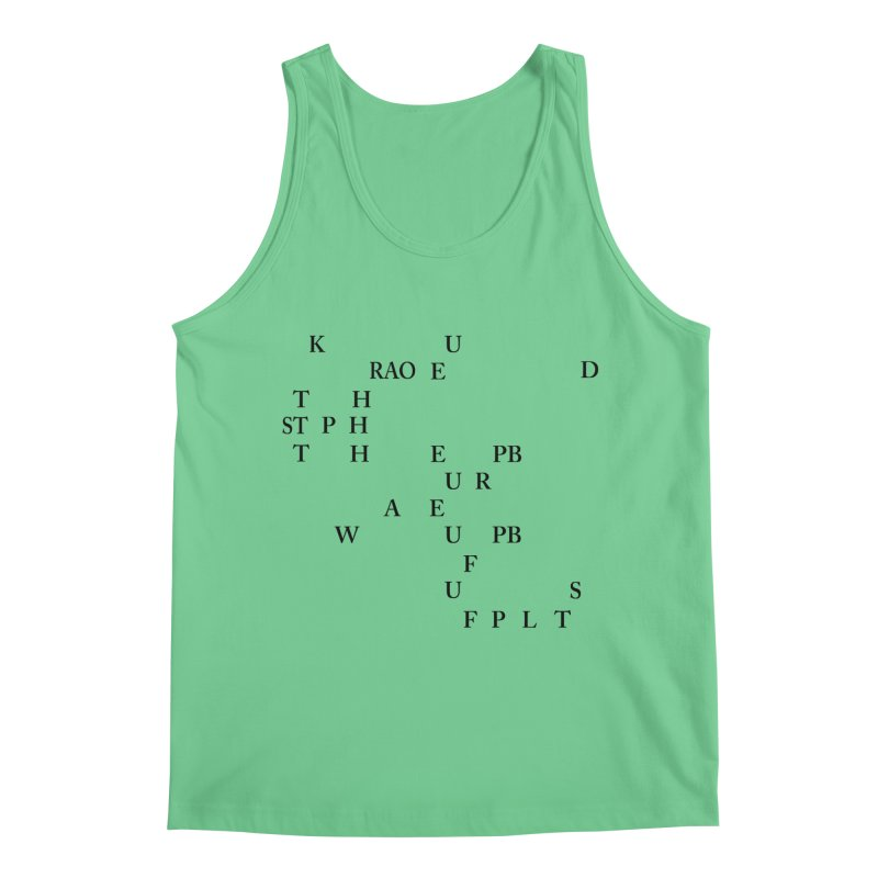 """Can you read this? Then you're one of us"" Men's Regular Tank by Stenograph's Artist Shop"