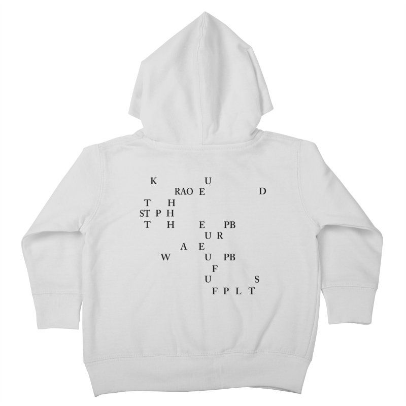"""""""Can you read this? Then you're one of us"""" Kids Toddler Zip-Up Hoody by Stenograph's Artist Shop"""