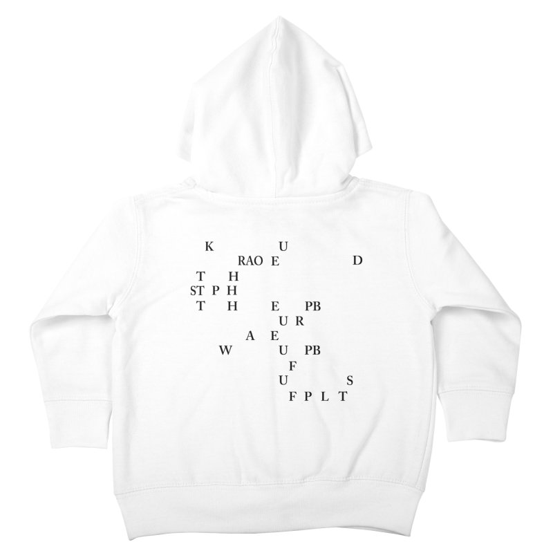 """Can you read this? Then you're one of us"" Kids Toddler Zip-Up Hoody by Stenograph's Artist Shop"