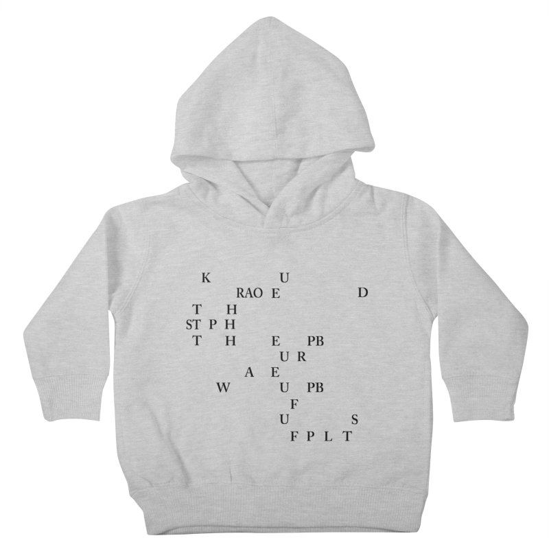 """""""Can you read this? Then you're one of us"""" Kids Toddler Pullover Hoody by Stenograph's Artist Shop"""