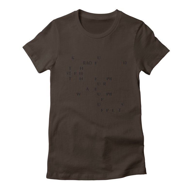 """Can you read this? Then you're one of us"" Women's Fitted T-Shirt by Stenograph's Artist Shop"