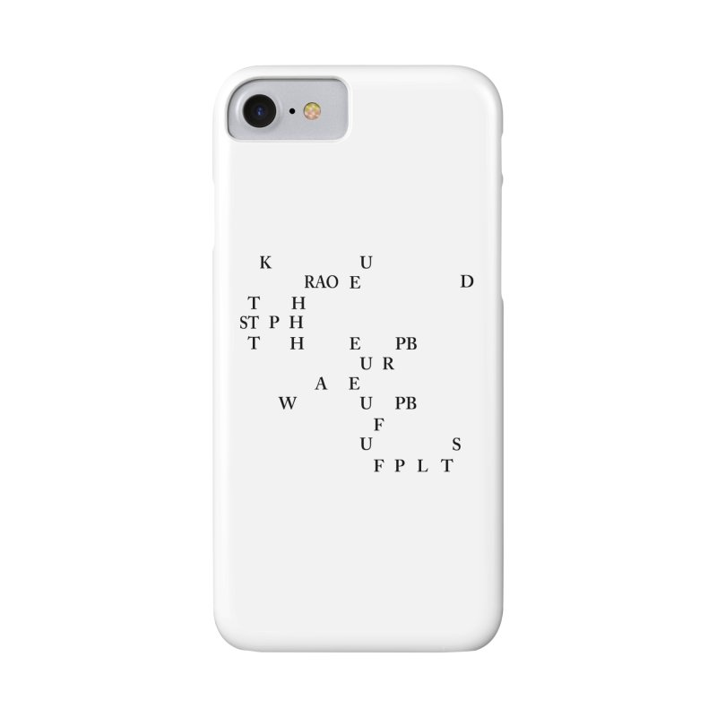 """Can you read this? Then you're one of us"" Accessories Phone Case by Stenograph's Artist Shop"