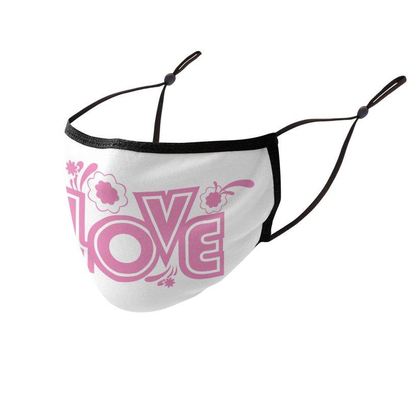 Steno Love Accessories Face Mask by Stenograph's Artist Shop
