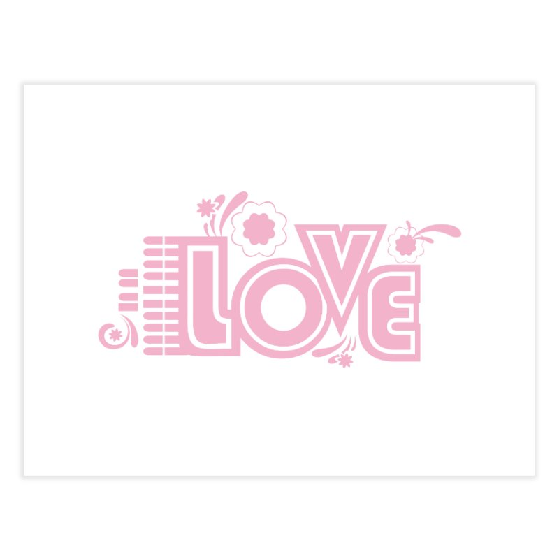 Steno Love Home Fine Art Print by Stenograph's Artist Shop