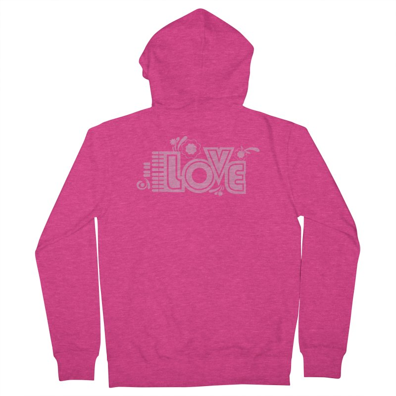 Steno Love Women's French Terry Zip-Up Hoody by Stenograph's Artist Shop