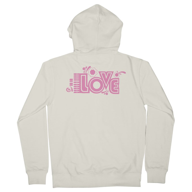 Steno Love Men's French Terry Zip-Up Hoody by Stenograph's Artist Shop