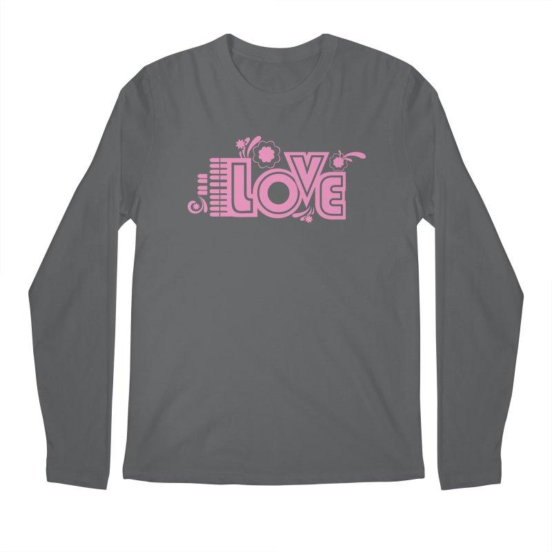 Steno Love Men's Regular Longsleeve T-Shirt by Stenograph's Artist Shop