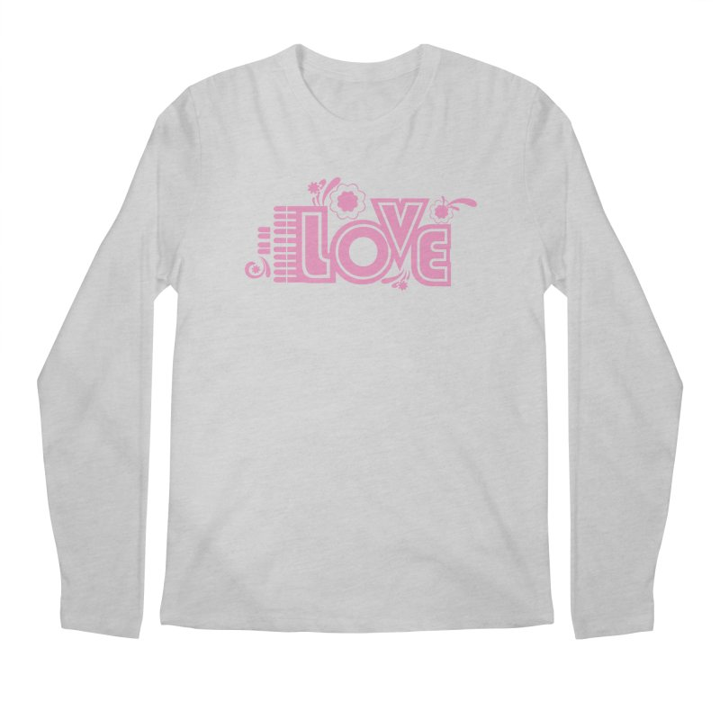 Steno Love Men's Regular Longsleeve T-Shirt by Stenograph's Artist Shop