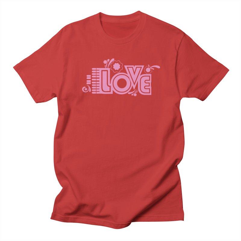 Steno Love Men's Regular T-Shirt by Stenograph's Artist Shop