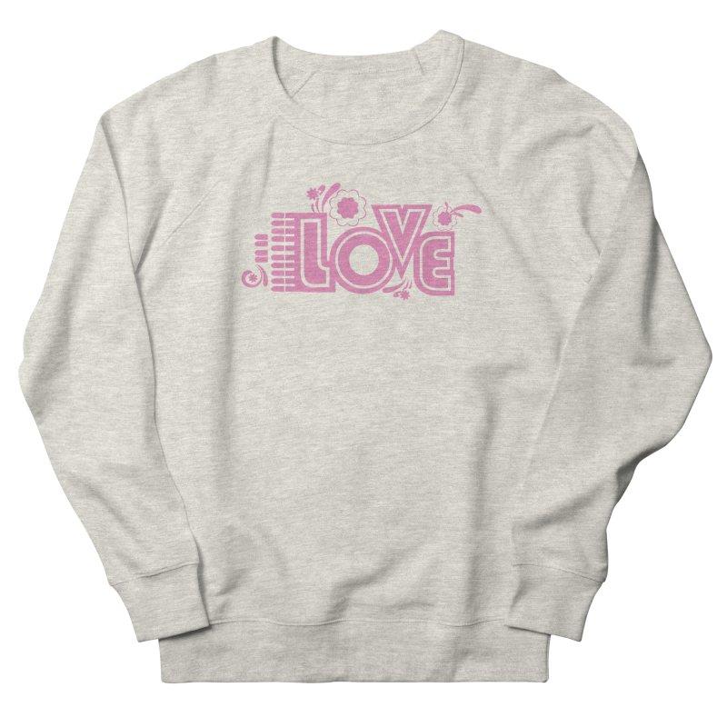 Steno Love Men's French Terry Sweatshirt by Stenograph's Artist Shop