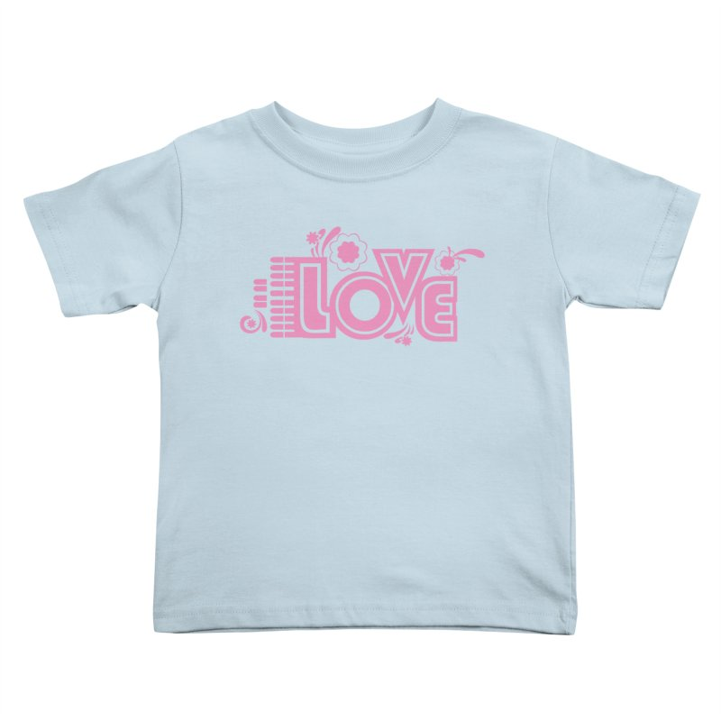 Steno Love Kids Toddler T-Shirt by Stenograph's Artist Shop