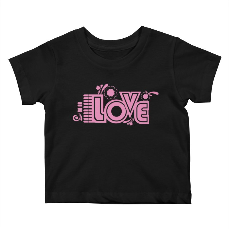 Steno Love Kids Baby T-Shirt by Stenograph's Artist Shop