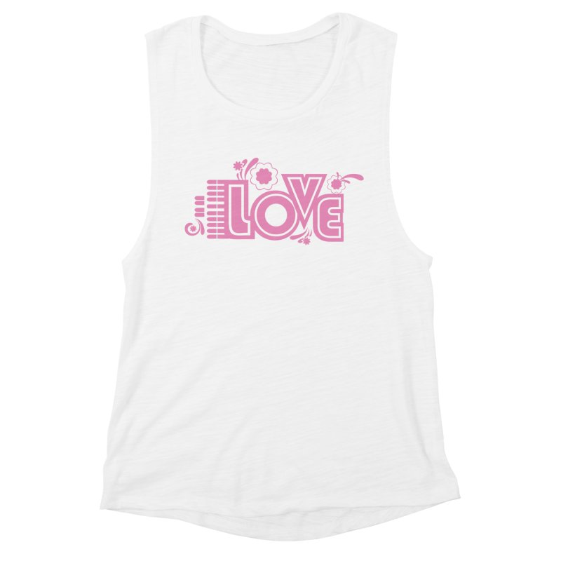 Steno Love Women's Muscle Tank by Stenograph's Artist Shop