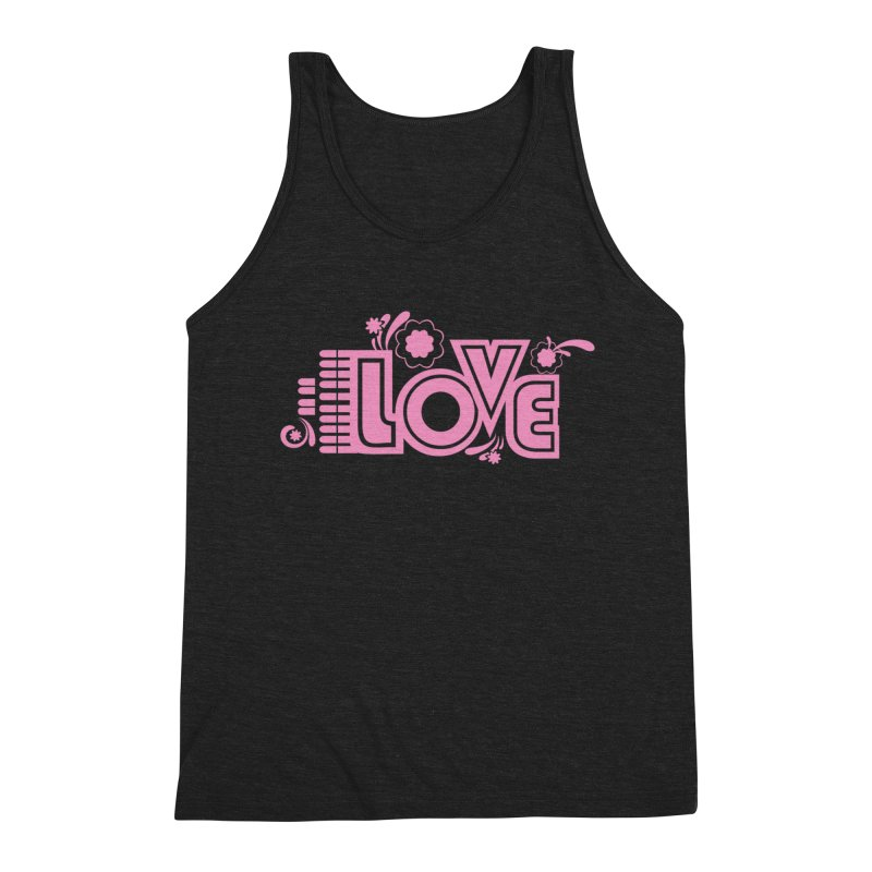 Steno Love Men's Triblend Tank by Stenograph's Artist Shop