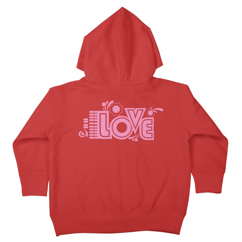 Steno Love Kids Toddler Zip-Up Hoody by Stenograph's Artist Shop