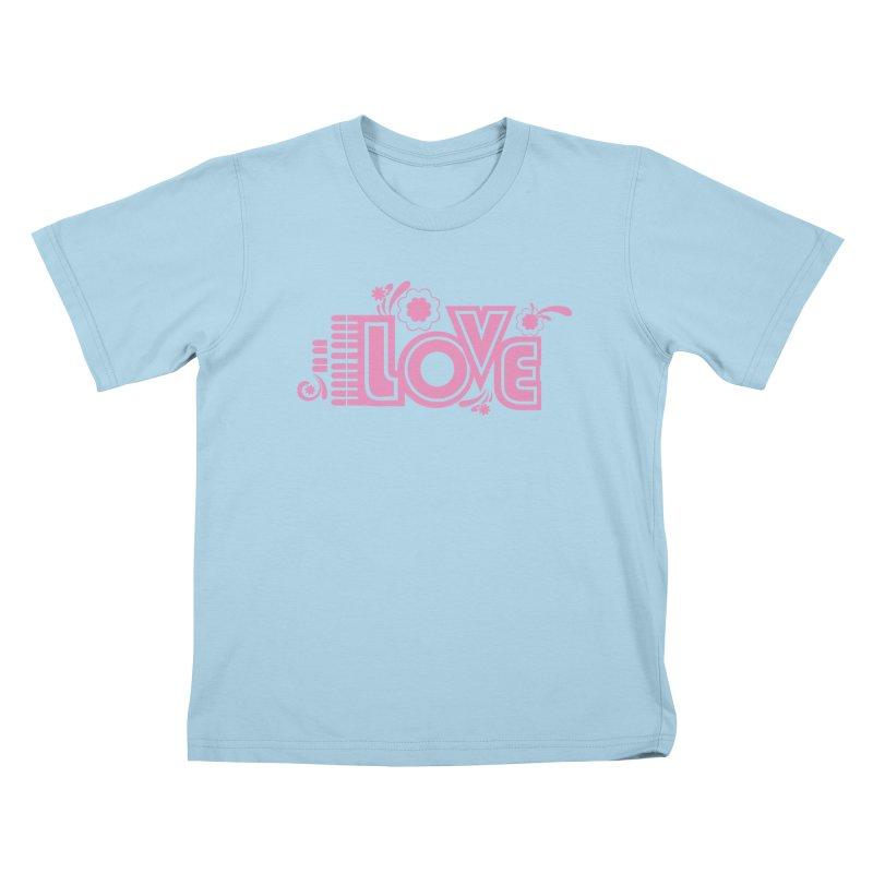 Steno Love Kids T-Shirt by Stenograph's Artist Shop