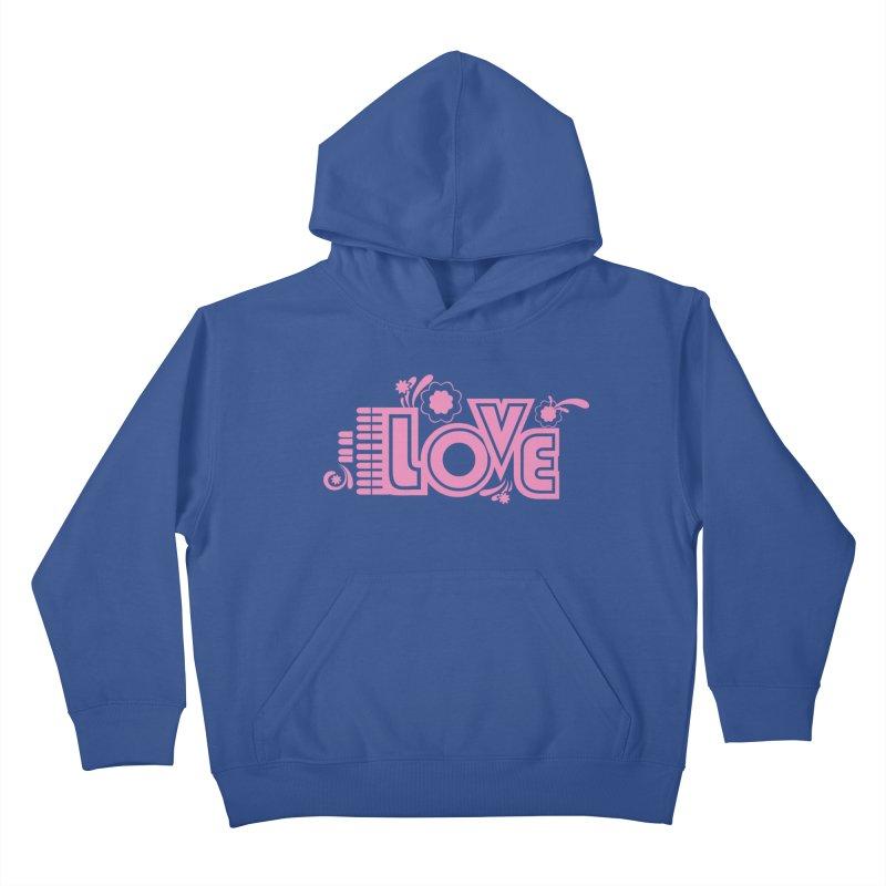 Steno Love Kids Pullover Hoody by Stenograph's Artist Shop