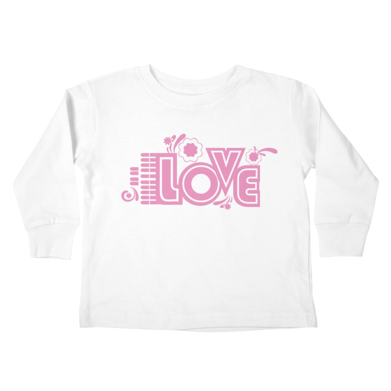 Steno Love Kids Toddler Longsleeve T-Shirt by Stenograph's Artist Shop