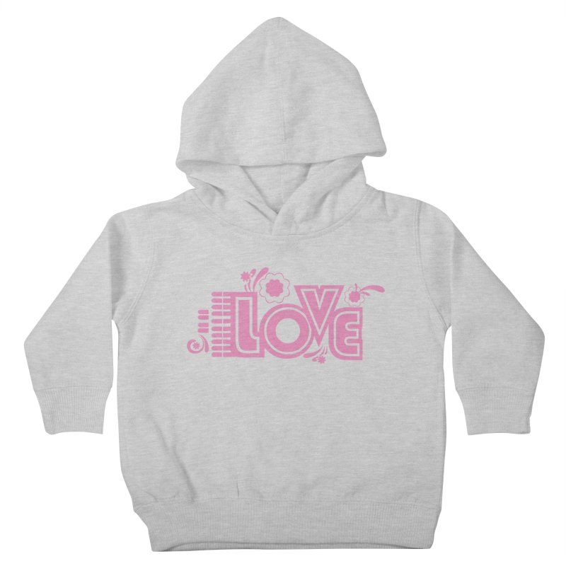 Steno Love Kids Toddler Pullover Hoody by Stenograph's Artist Shop