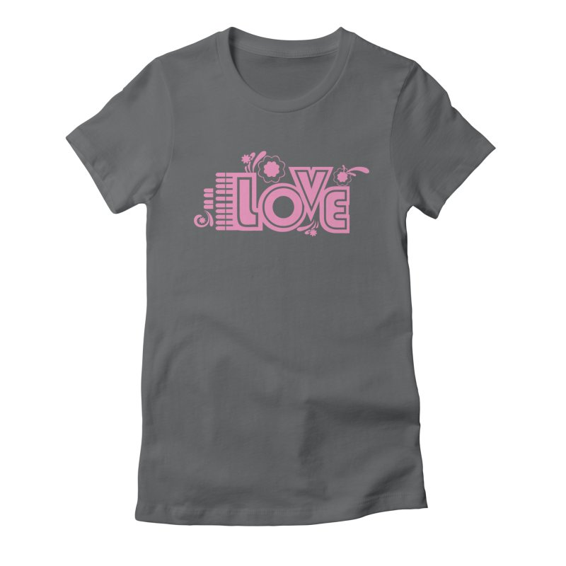 Steno Love Women's Fitted T-Shirt by Stenograph's Artist Shop