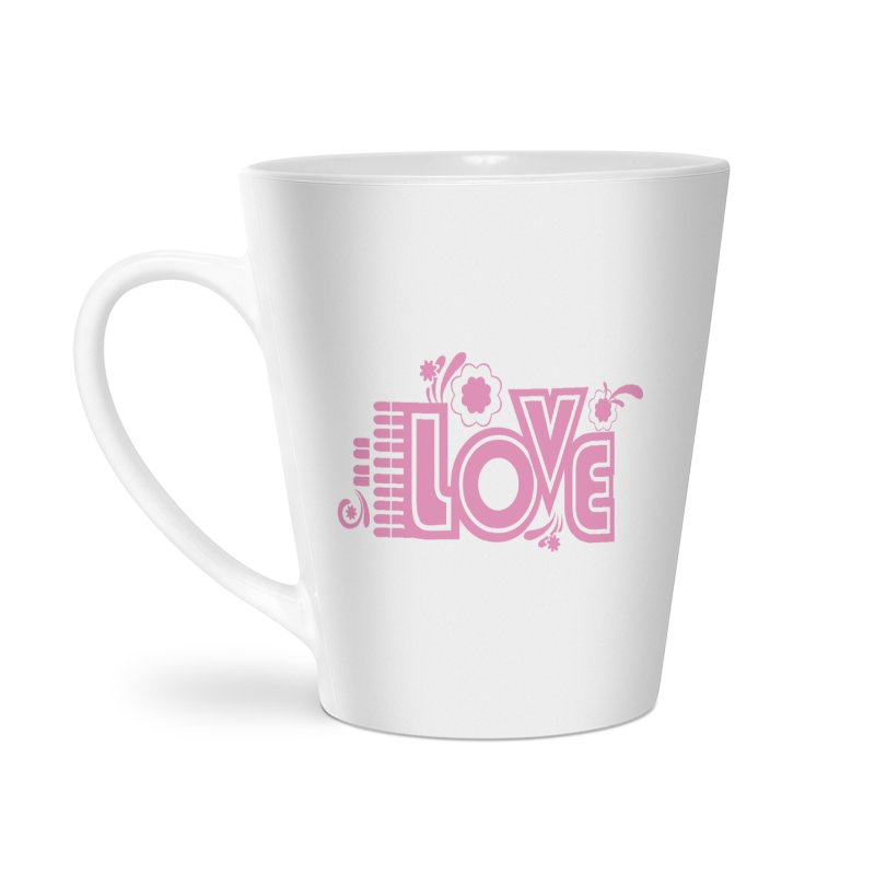 Steno Love Accessories Latte Mug by Stenograph's Artist Shop