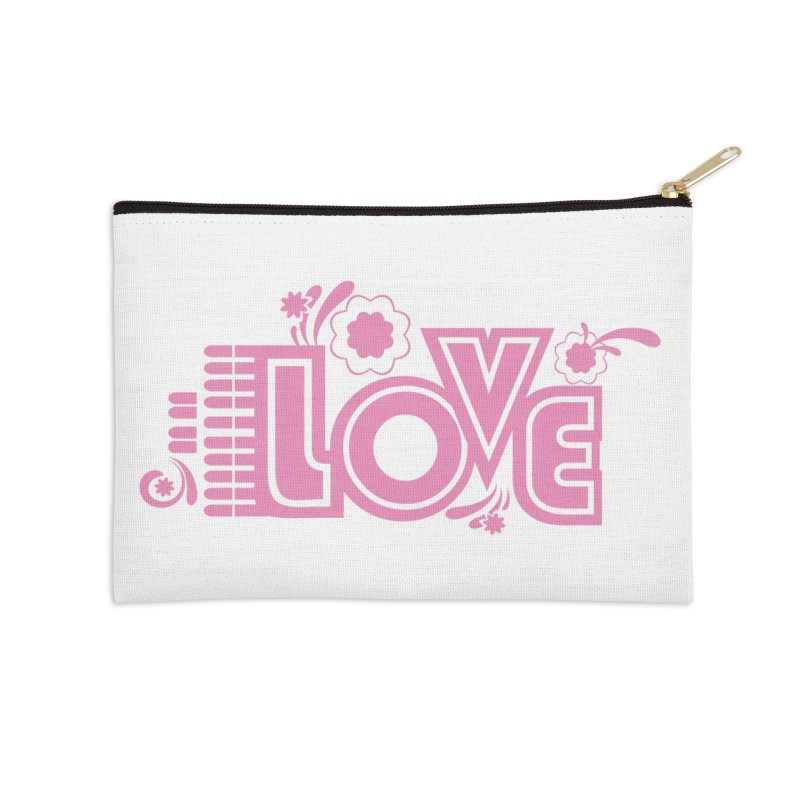 Steno Love Accessories Zip Pouch by Stenograph's Artist Shop