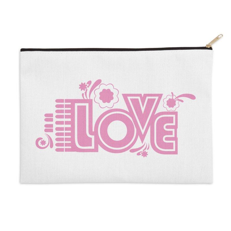 Steno Love Accessories Zip Pouch by Stenograph's Artist Shop