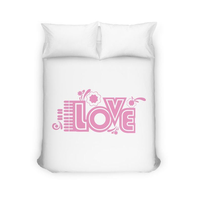 Steno Love Home Duvet by Stenograph's Artist Shop
