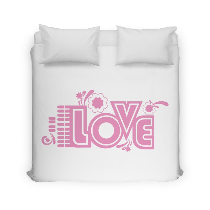Steno Love Home Duvet by Stenograph's Artist Shop