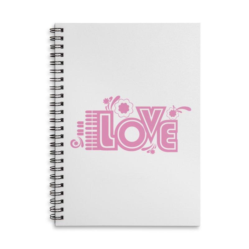 Steno Love Accessories Lined Spiral Notebook by Stenograph's Artist Shop