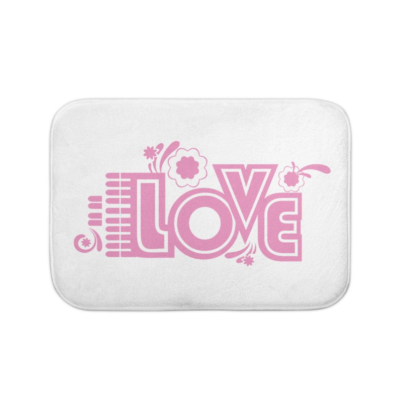 Steno Love Home Bath Mat by Stenograph's Artist Shop