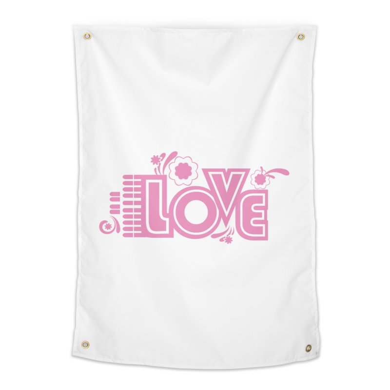 Steno Love Home Tapestry by Stenograph's Artist Shop