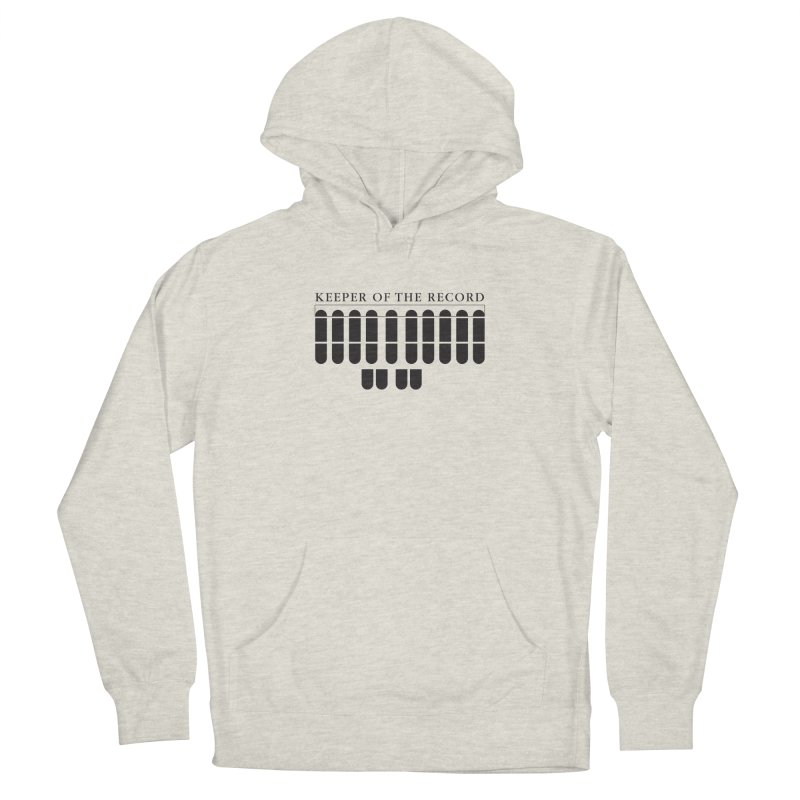 Keeper of the Record Men's French Terry Pullover Hoody by Stenograph's Artist Shop