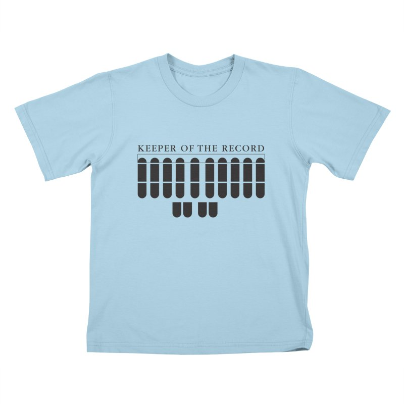 Keeper of the Record Kids T-Shirt by Stenograph's Artist Shop