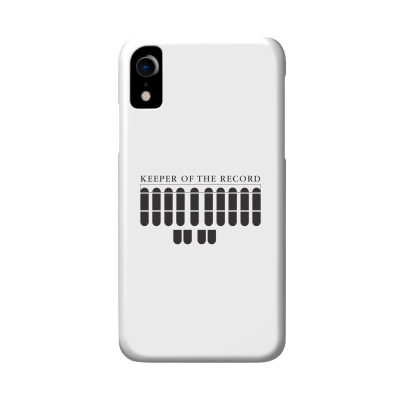 Keeper of the Record Accessories Phone Case by Stenograph's Artist Shop