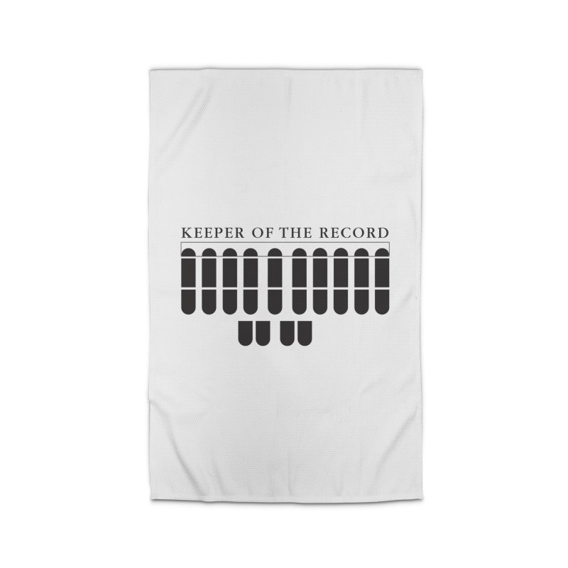 Keeper of the Record Home Rug by Stenograph's Artist Shop