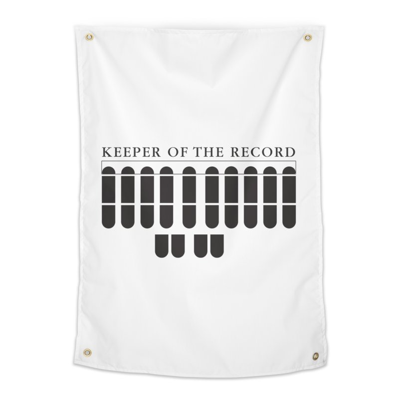 Keeper of the Record Home Tapestry by Stenograph's Artist Shop