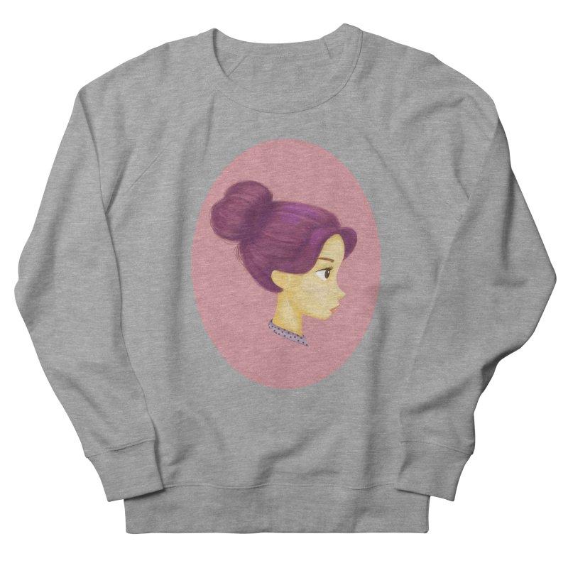 Messy Bun Girl Men's Sweatshirt by stephanie's Artist Shop