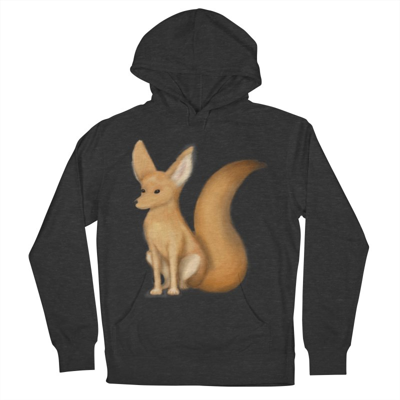 Furry Fox Women's Pullover Hoody by stephanie's Artist Shop