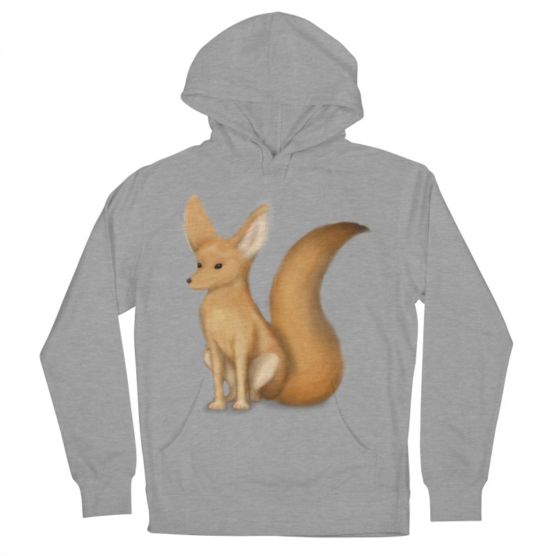 Furry Fox Men's Pullover Hoody by stephanie's Artist Shop