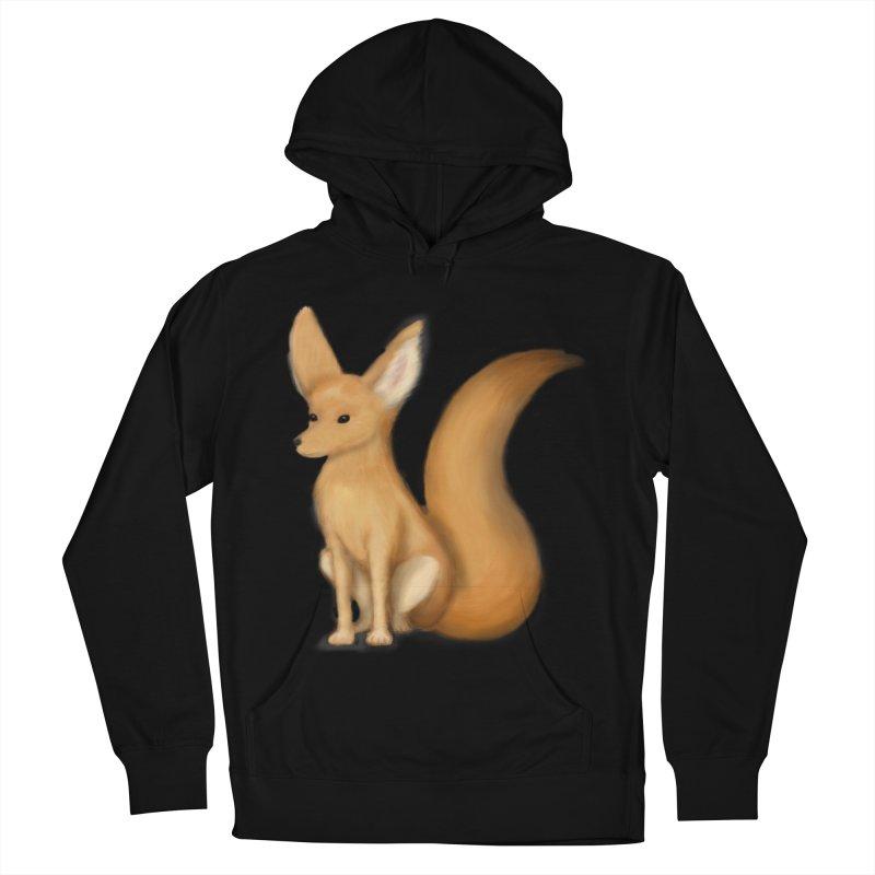Furry Fox Men's Pullover Hoody by stephanie's Artist Shop