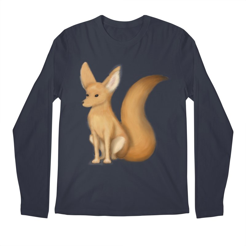Furry Fox Men's Longsleeve T-Shirt by stephanie's Artist Shop