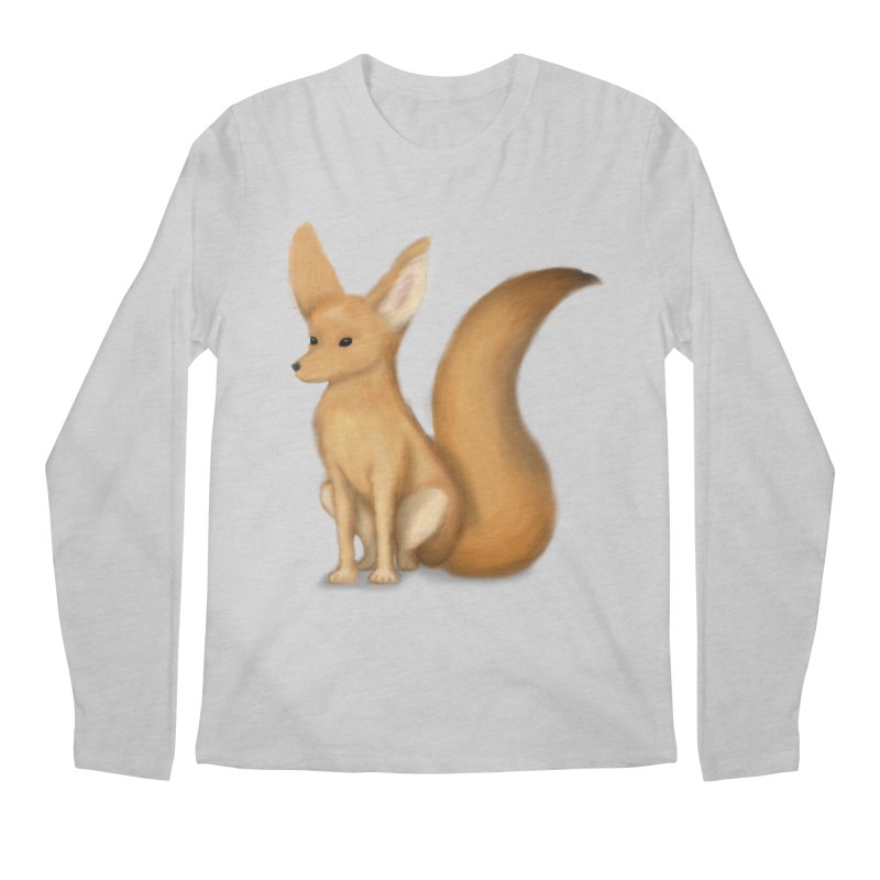 Furry Fox Men's Longsleeve T-Shirt by stephanie's Artist Shop