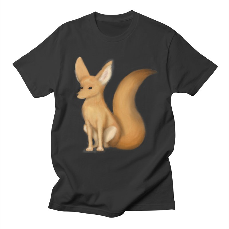 Furry Fox Men's T-shirt by stephanie's Artist Shop