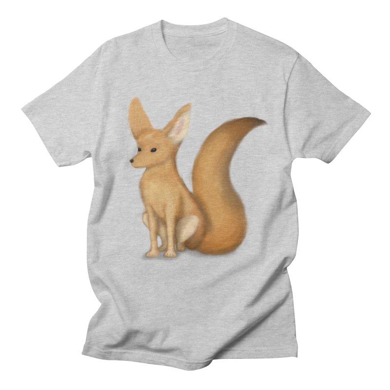 Furry Fox Men's T-Shirt by stephanie's Artist Shop