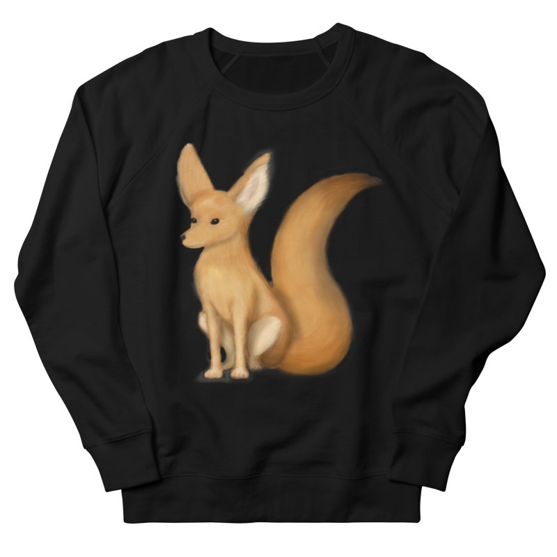 Furry Fox Women's Sweatshirt by stephanie's Artist Shop