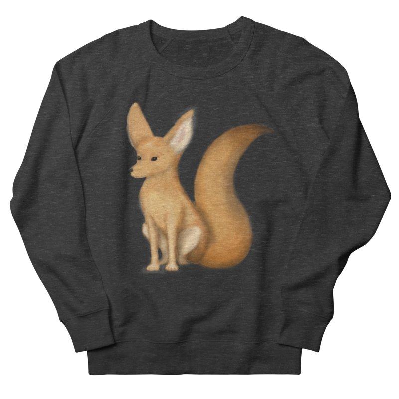 Furry Fox Men's Sweatshirt by stephanie's Artist Shop