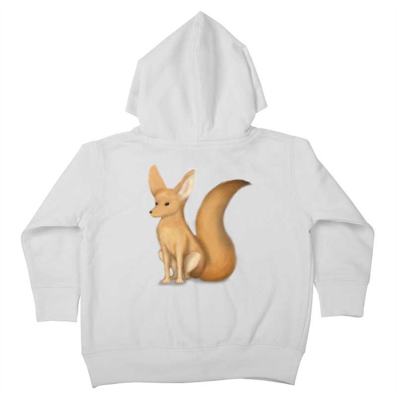 Furry Fox Kids Toddler Zip-Up Hoody by stephanie's Artist Shop